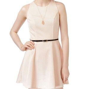 ⚡️ 3/$30 Crystal Doll Juniors' Mini Flare Dress